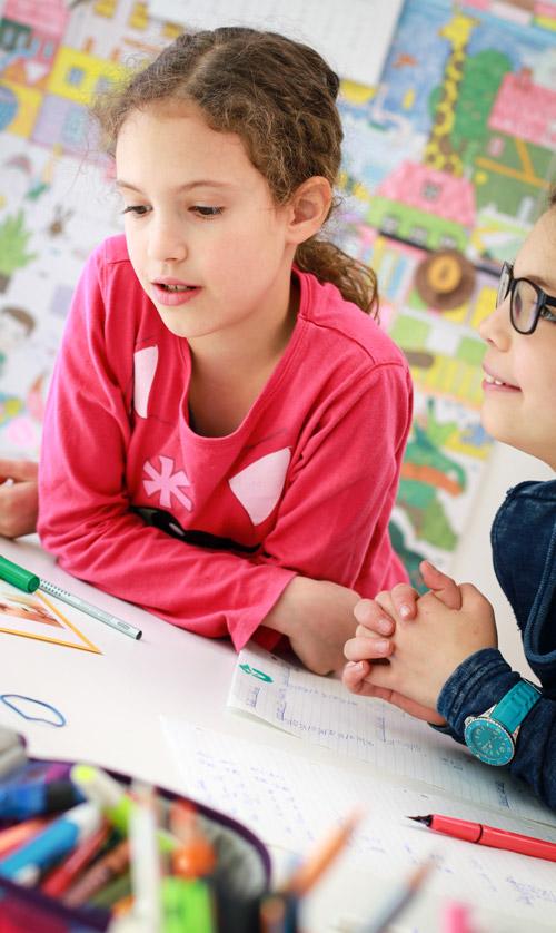 Kinder beim Lernen in der Fieri Lernwerkstatt